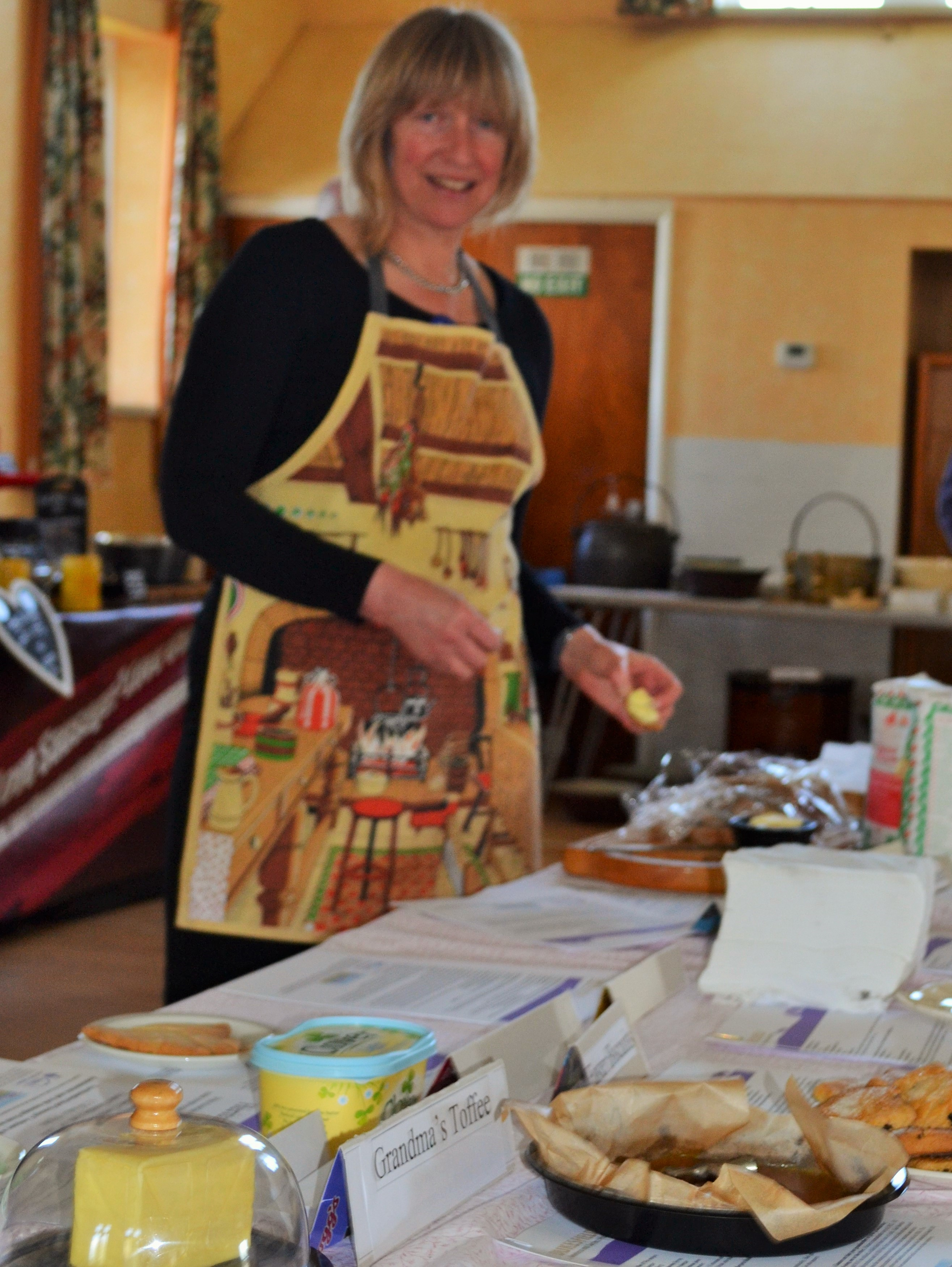 Pam & a selection of things to taste