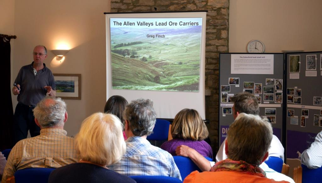 Talk on the Allen Valley lead ore carriers at Sinderhope on 29th June