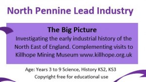 North Pennines Lead History Plan